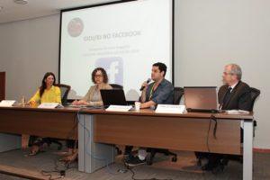 O GIDJ/RJ também apresentou dados sobre sua página (Foto: Claunir Tavares)
