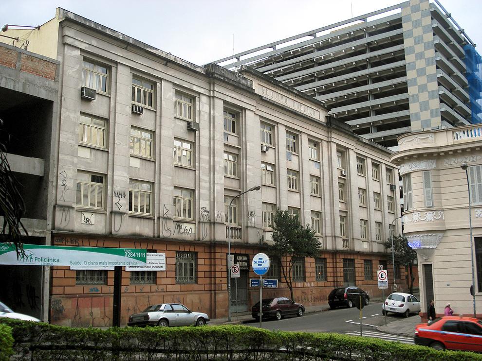RS: Arquivo Público guarda 21 milhões de documentos